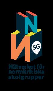 ST: Nätverket för normkritiska skolgruppers logga.