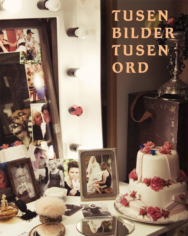 ST: Framsida till boken Tusen Bilder, Tusen Ord.