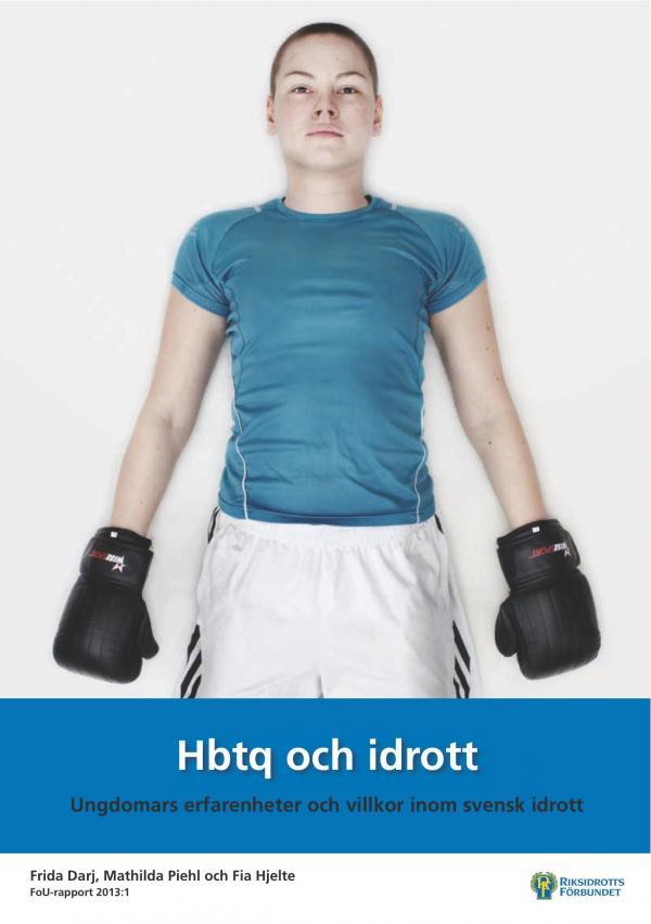ST: Framsida till rapporten Hbtq och idrott.